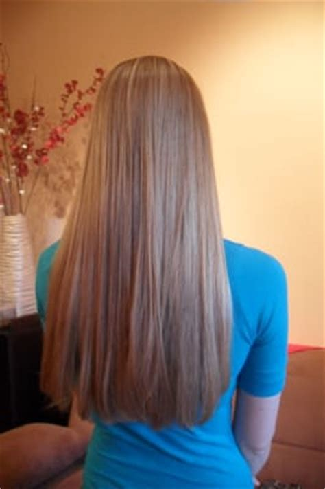 how to cut your hair straight across the back great straight across shape long hair at marias hair salon