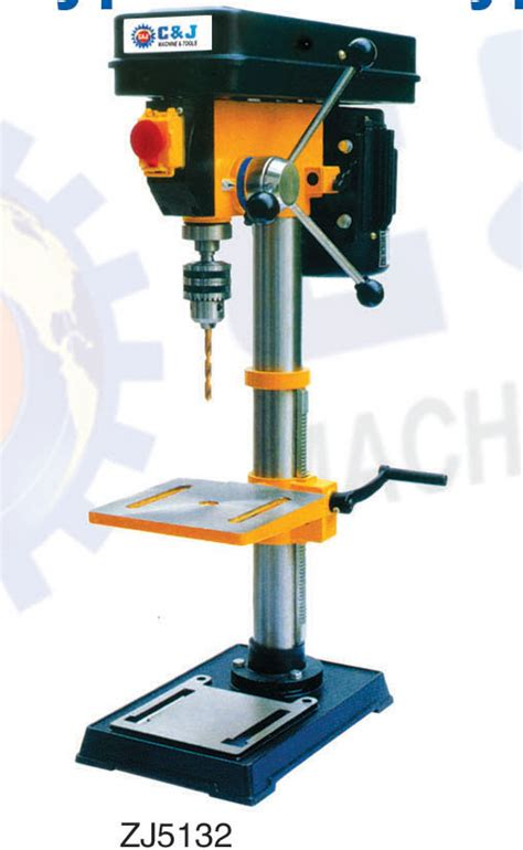 bench type drilling machine c j machinery co ltd