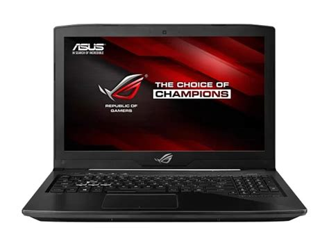 Laptop Asus Gl503vd asus rog launches new strix entry level gaming laptops notebookcheck net news