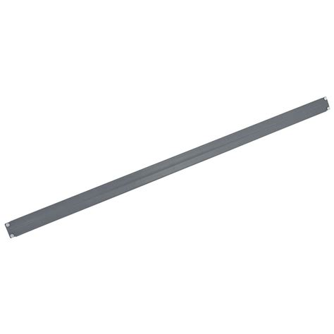 edsal shelving replacement parts edsal manufacturing cbe4703g edsal steel beam for cr4824 48 quot gray furniture shelving
