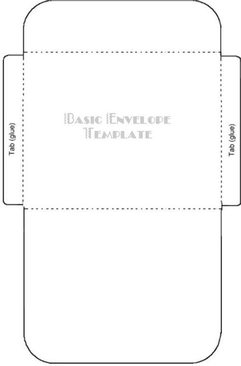 evelope for 7x10 card template free printable card envelope templates викрійки схеми