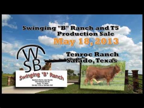 Swinging B Ranch Youtube