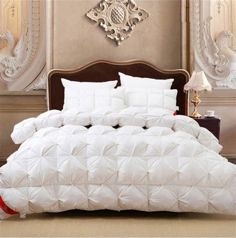 goose down comforter queen size goose down comforter white pink satin winter comforters