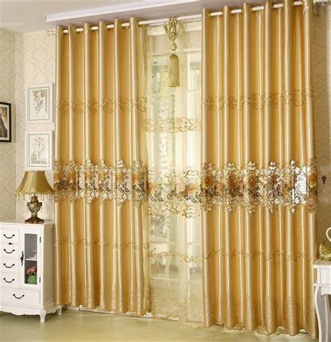 quality ready made curtains chamie living room curtain fashion quality embroidered