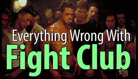 club with everything wrong with fight club in 11 minutes or less