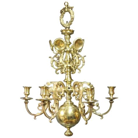Brass Church Chandelier From 1850 For Sale At 1stdibs Church Chandeliers