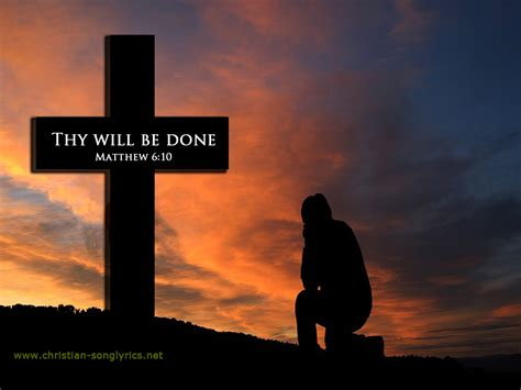Thy Will Be Done Was And Is To Come Cd thy will the family lyrics and christian song lyrics