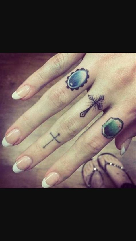 cross ring tattoos 691 best ring finger ideas images on