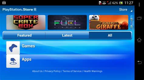 mobile playstation playstation mobile autour des htc one xl et one x