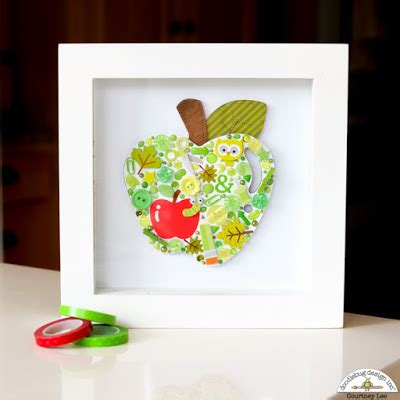 apple home decor doodlebug design inc blog smash up challenge apple home