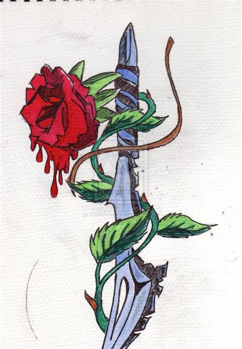 tattoo meaning rose and dagger 42 best rose and dagger tattoo meaning images on pinterest