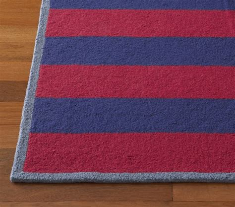 boy rugs boys rugby stripe rug pottery barn