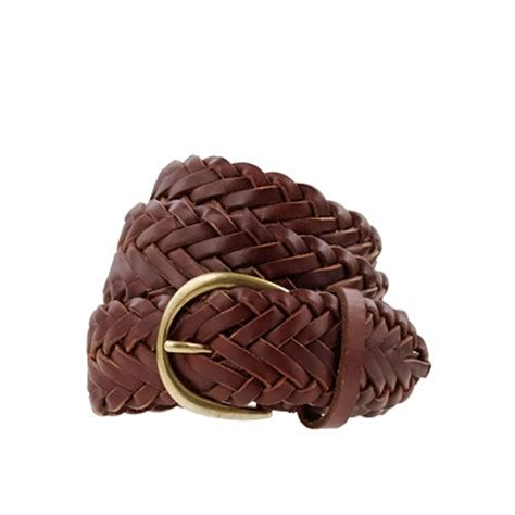 10 leather belts for