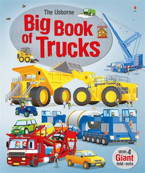 big book pictures big book of trucks at usborne children s books