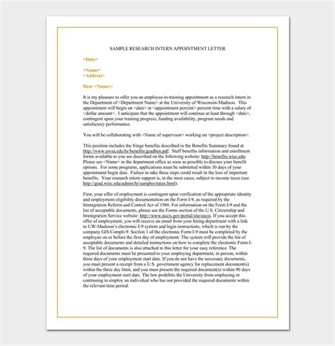 appointment letter format management trainee trainee appointment letter 10 sle letters formats