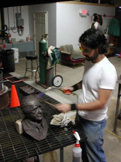 Terbaru Jh Ting Ting Bag the process of patinating sculpture by gibbs