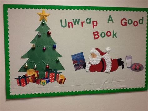 unwrap good behavior christmas bulletin board bulletin board unwrap a book this bulletin boards