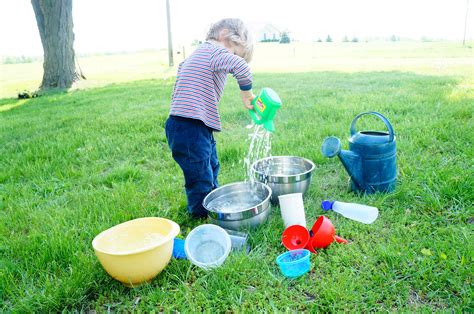 backyard water play guest post at life with moore babies outdoor water play