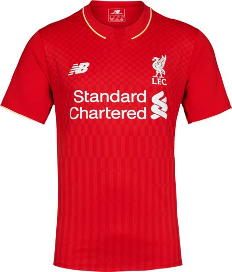 liverpool kit new liverpool kit liverpool fc shirt uksoccershop new balance liverpool 15 16 kits released footy headlines
