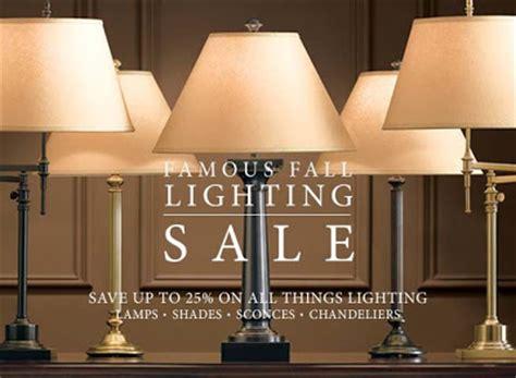 Dose Of Design It Restoration Hardware Lighting Sale