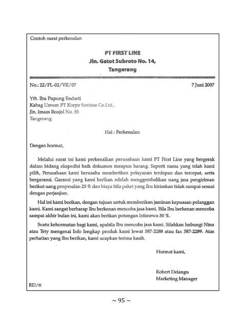 Contoh Surat Lamaran Kerja Ke Pt Wika