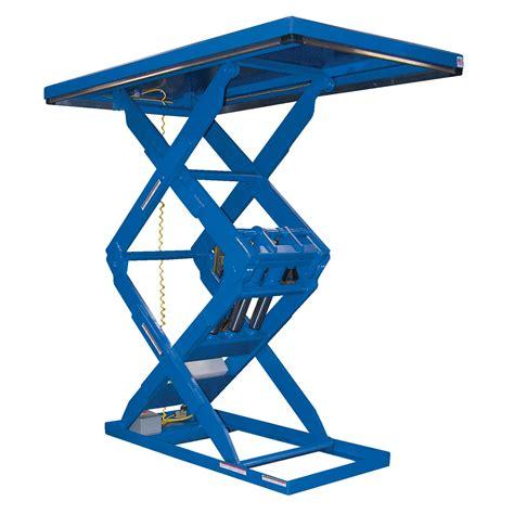 vestil ehltd 3 84 leg scissor lift table by vestil