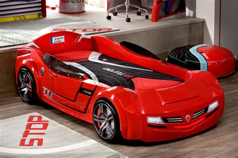 childrens car beds car bed kids bedroom modern kids miami by turbo beds