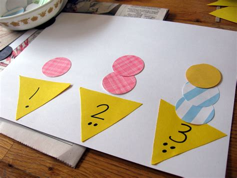pattern project kindergarten hands on math for preschool the letter quot i quot math