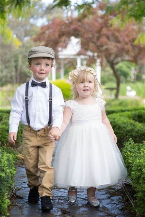 Flower Bokays Wedding by Vintage Page Boy With Out The Hat Black And The