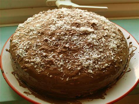 kokosraspel kuchen schoko kokosnu 223 kuchen rezept mit bild chiara