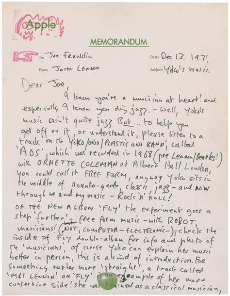 The Lennon Letters
