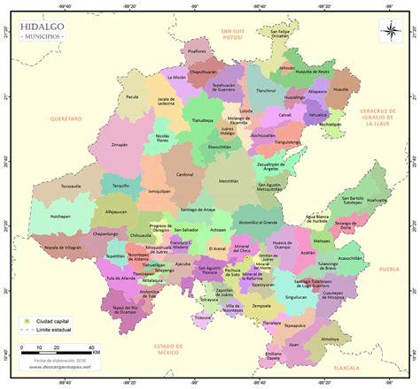 cosulta fotomulta estado de mexico mapa de municipios de hidalgo descargar mapas