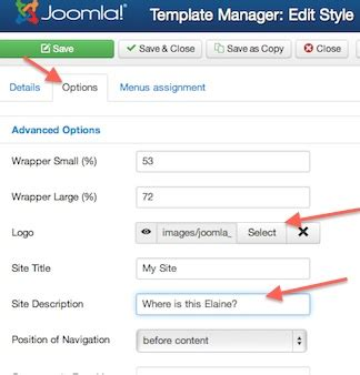 video tutorial joomla 3 0 joomla 3 0 tutorial how to change site logo and site name