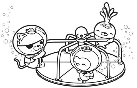 dashi dog coloring page free coloring pages of octonauts dashi