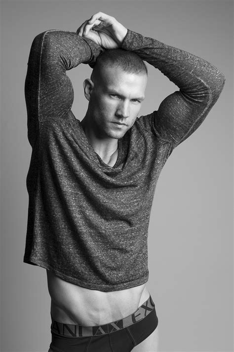 Model Lucas Kerr Sits for New Photos by Ruben Tomas | The
