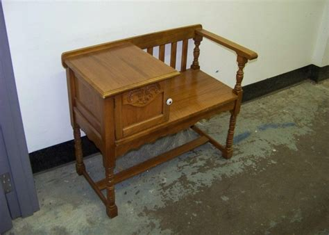 antique telephone bench accessories oak antique telephone table with seat antique design telephone table