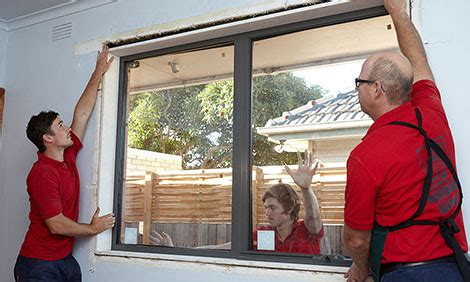 how to install windows on house how to install aluminium windows bunnings warehouse