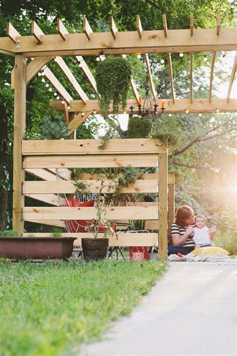 build a l shade 51 diy pergola plans ideas you can build in your garden