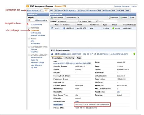 aws management console web services management console