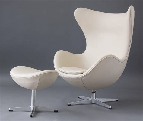 Egg Chair For Sale by Egg Chair With Ottoman By Arne Jacobsen For Sale At 1stdibs