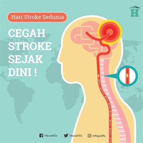 Infografis Stroke Cegah Stroke Sejak Dini House Of | infografis stroke cegah stroke sejak dini house of