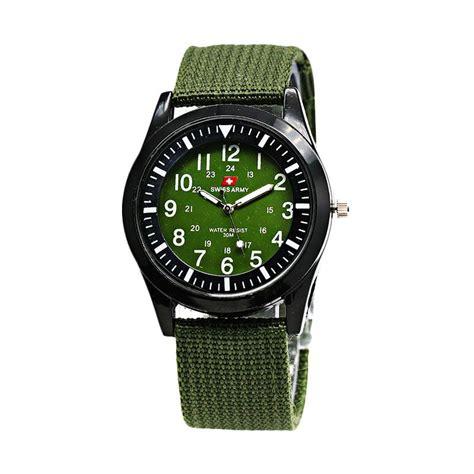 Swiss Army Kanvas Wanita jual swiss army 1028 kanvas jam tangan wanita