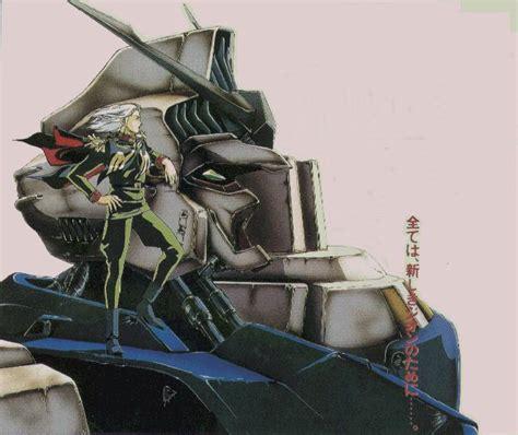 Anavel Top gundam 0083 stardust memory aka top gun gundam no