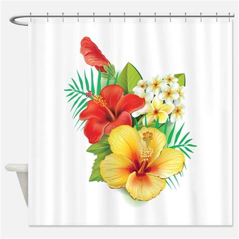 hibiscus shower curtain hibiscus gifts merchandise hibiscus gift ideas