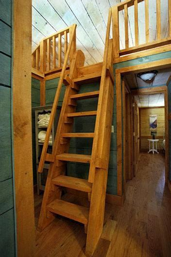 sleeping loft tiny house stairs loft