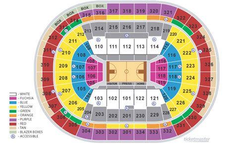 moda center seating map moda center seating map my