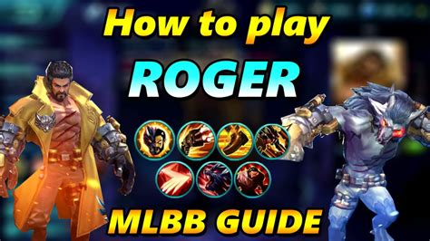 Kaos Roger Mobile Legend 1 how to play roger tips tricks mobile legends guide tutorial