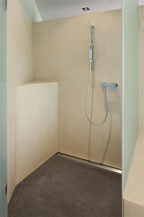 wandbelag dusche bodarto badezimmergestaltung boden und wandbelag f 252 r