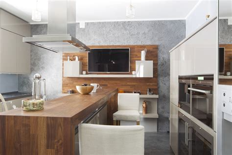 kitchen tv ideas modern kitchen design with tv interior design ideas