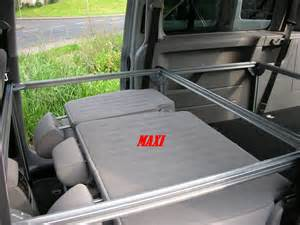 caddy maxi bett bett f 252 r vw caddy und maxi inkl tisch cingbett